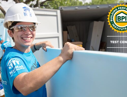Habitat for Humanity of Rhode Island-Greater Providence Becomes an Approved Building Performance Institute Testing Center