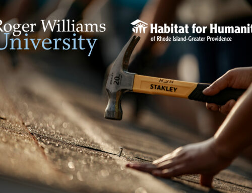New Partnership between HabitatPVD and Roger Williams University Habitat Chapter